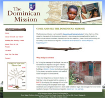 dominican mission web site