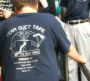 team duct tape t-shirt