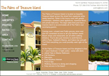 Palms of Treasure Island website