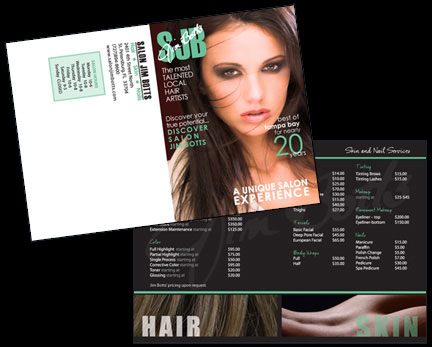 salon rate card